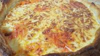Quiche De Longaniza Y Bacon Con Mozzarella