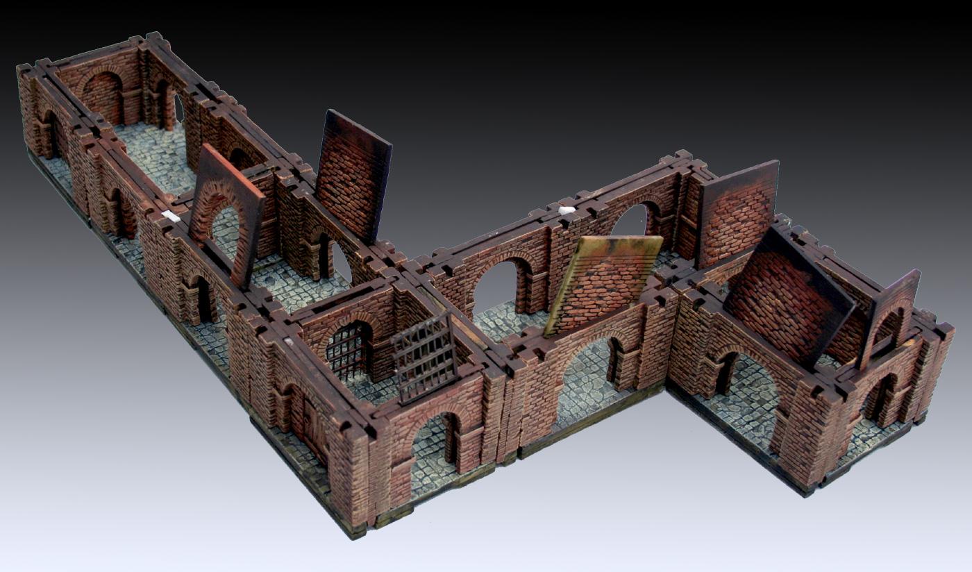 Dungeons 3d Manorhouse Modular Underground Kickstarter