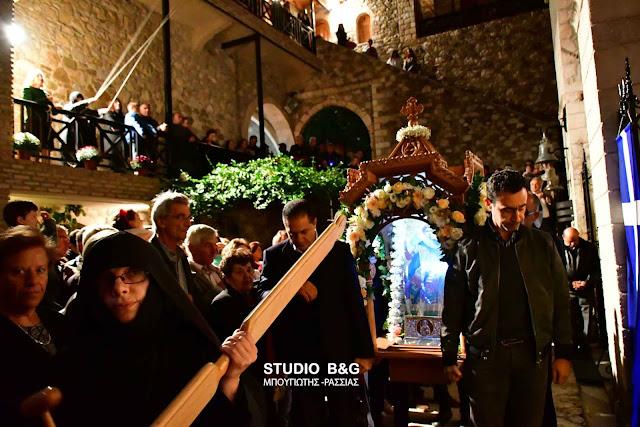 Η Εορτή του Αγίου Δημητρίου στο Βυζαντινό Μοναστήρι του Καρακαλά στο Ναύπλιο (βίντεο)