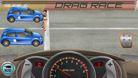 Drag Racing android app
