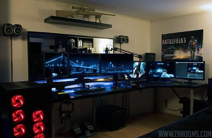 battlefield game room