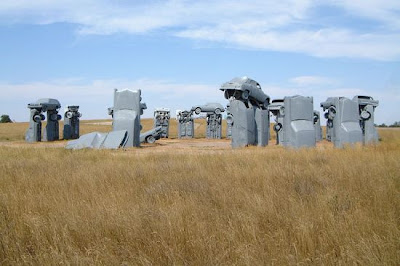 esculturas de automovil