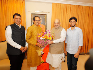 Why Amit Shah met Uddhav Thackeray?