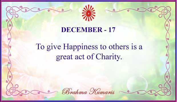 Thought For The Day December 17