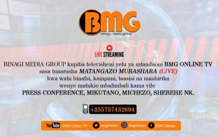 BMG Online TV LIVE Coverage