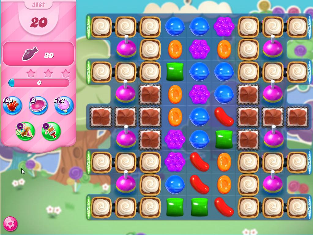 Candy Crush Saga level 3587