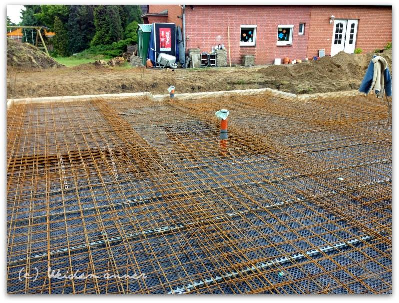 Giessen Der Bodenplatte Und Erster Baugutachter Termin