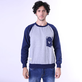 Sweater Cowok Original GESHP 1259