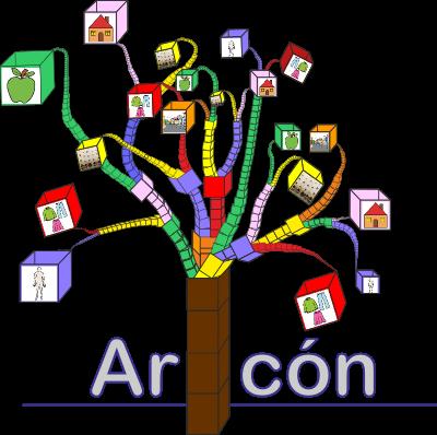 Representación gráfica de un árbol del cual brotan ramas con cajas en los extremos