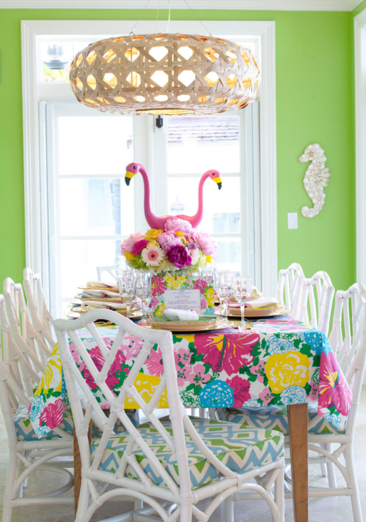 Lilly Pulitzer Pink Flamingo Party