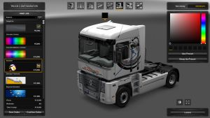 Koblar Transport Skin for Renault Magnum