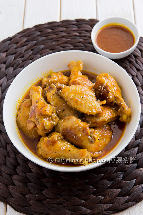 Chicken Wings in BBQ Sauce01