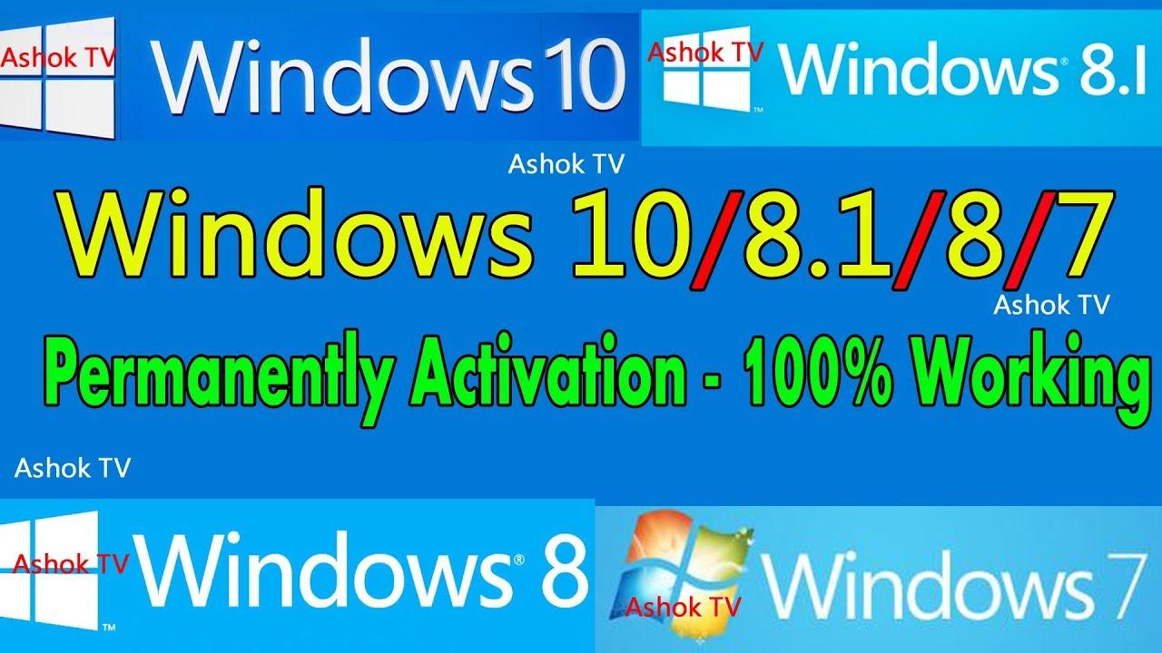 windows 7 permanent activator software