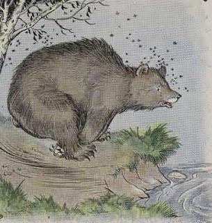 Dongeng beruang dan lebah