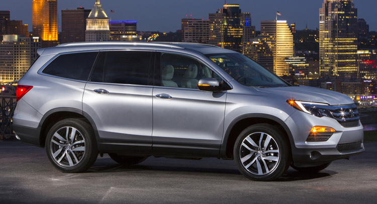 Honda Pilot 2016 Is More Sophisticated And Many Changes From The Old Version Versatile