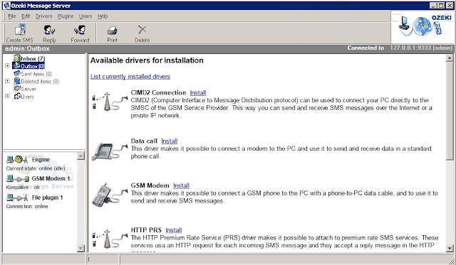 Cara Menghubungkan Modem dengan Ozeki Message Server-anditii.web.id