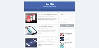 Asal blogger template