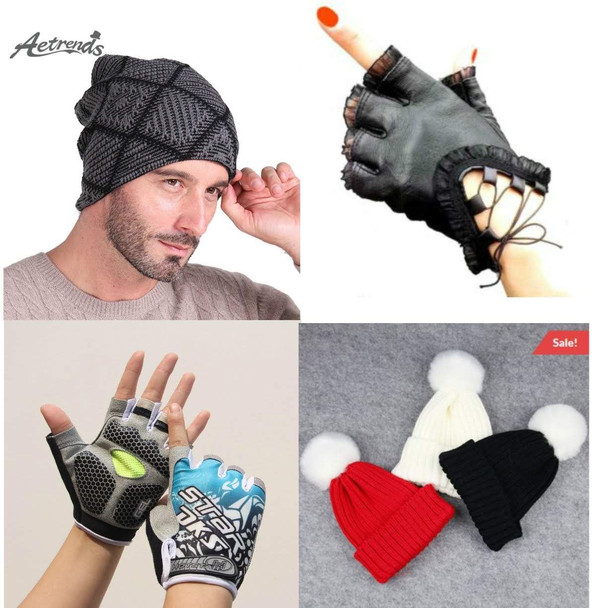 New fashion Leather Gloves&Cool Beanies-Lower Prices before Winter Kicks in !