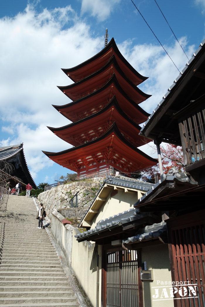 Pagode Gojû-no-tô, Miyajima, Hiroshima-ken
