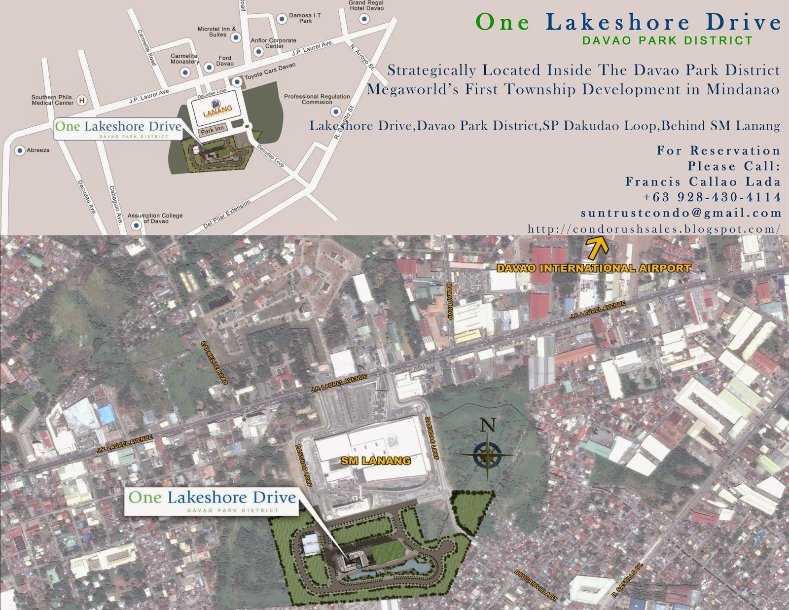 #One Lakeshore Drive Sitemap Location