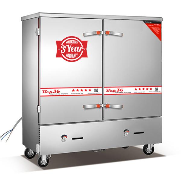 Tủ nấu cơm gas điện 24 khay tại Thanh Hóa