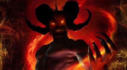 Ilustrasi gambaran setan
