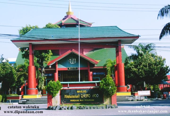 Pandaan Pasuruan Jawa Timur Pasar Buah Wisata Religi Masjid Cheng Ho Kata Kata Wisata Dan Kuliner