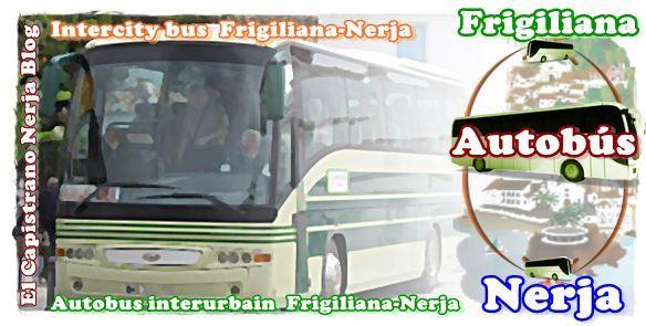 Nicosol, SL - Horarios y tarifa de precios autobús Frigiliana-Nerja-Frigiliana