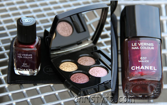 Chanel Le vernis 637 Malice (Holiday Collection 2012)