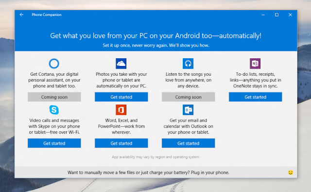 Um pouquinho do Windows 10 no seu Android ou iPhone, que tal?