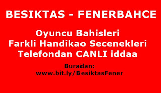 Beşiktaş Fenerbahçe canlı izle
