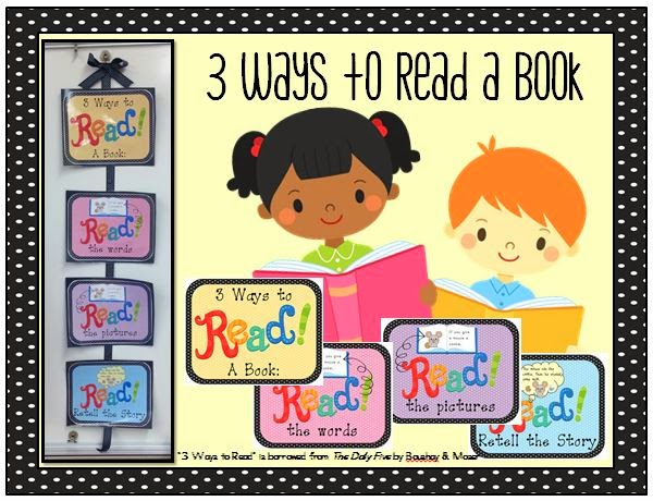 http://www.teacherspayteachers.com/Product/3-Ways-to-Read-a-Book-FREEBIE-1441951