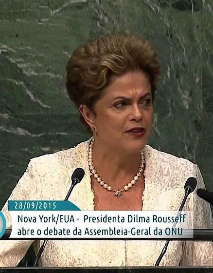 Meta anunciada por Dilma Rousseff na ONU deixou o Brasil a um passo do banco dos réus.