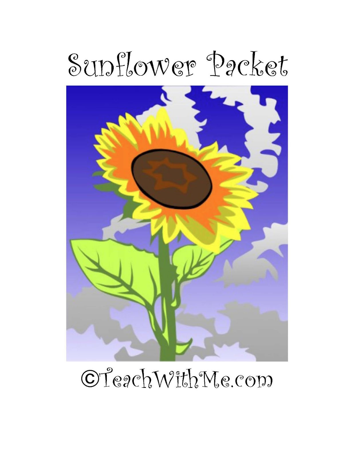 Sunflower Packet