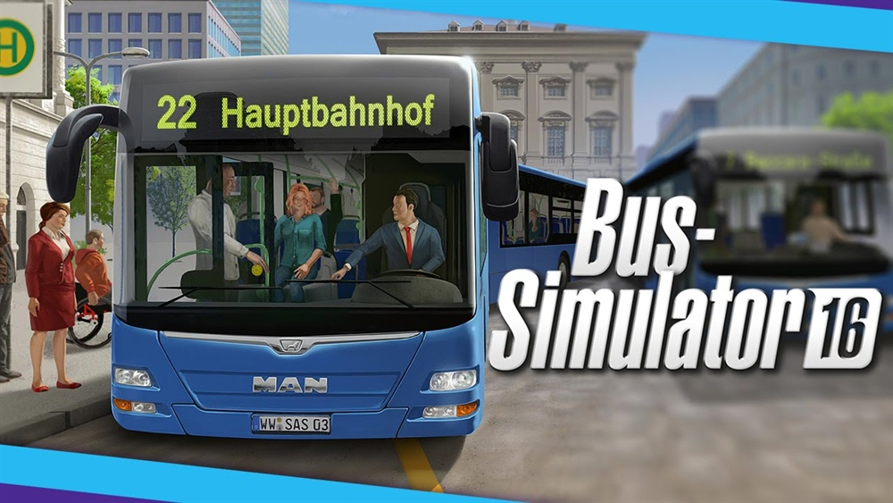 Bus Simulator 16 Download Poster