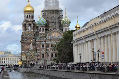Imagen de basílica San Petersburgo