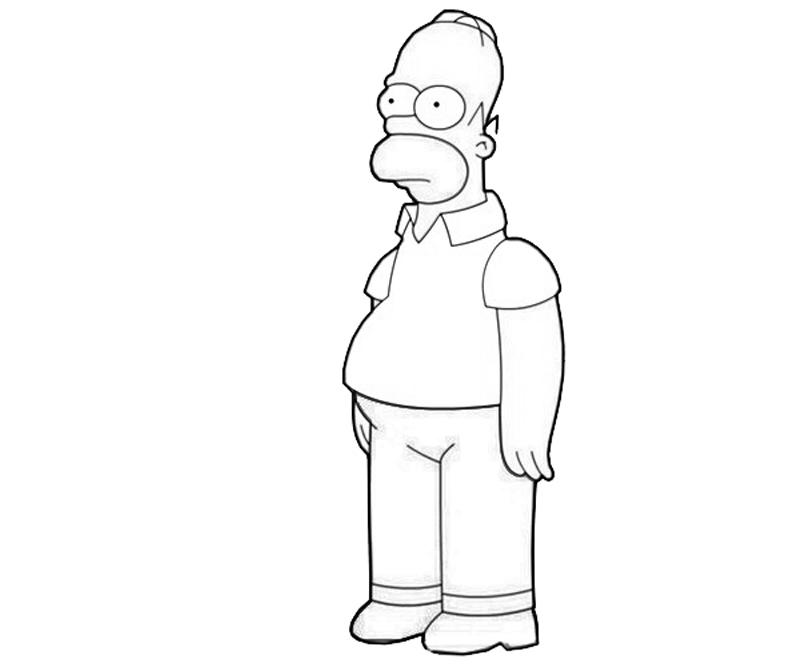 homer coloring pages - photo#13