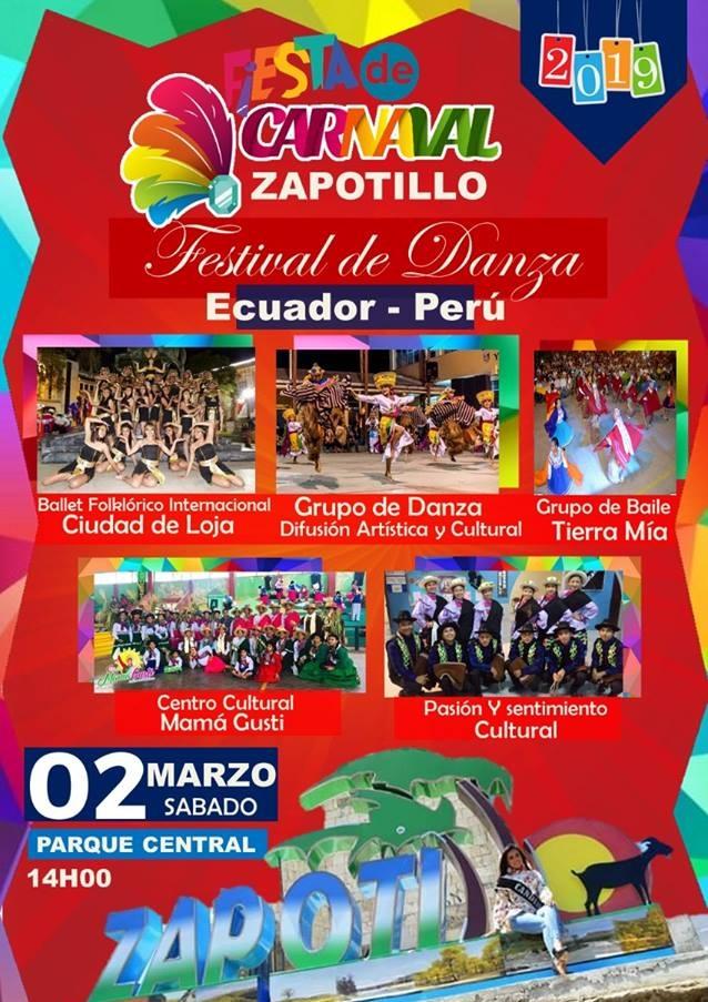 Programa completo Carnaval de Zapotillo 2019