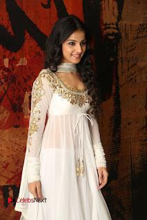Telugu Actress Mahima Makwana Stills in White Desginer Dress at Venkatapuram Movie Logo Launch  0013.JPG