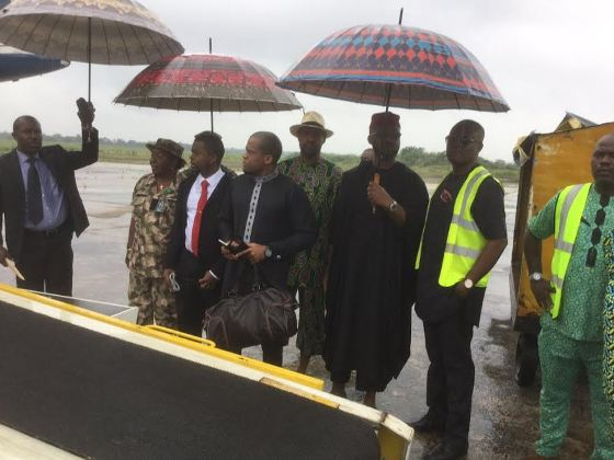 Photos/Video: Remains of former Foreign Affairs Minister, Ojo Maduekwe arrives Owerri