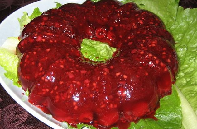 Salada em gelatina
