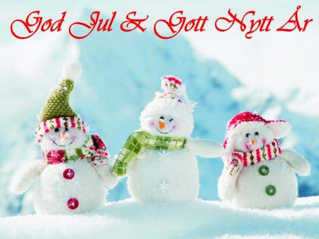 god jul och gott nytt år önskar