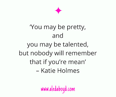 Quotes on real beauty by Katie Holmes