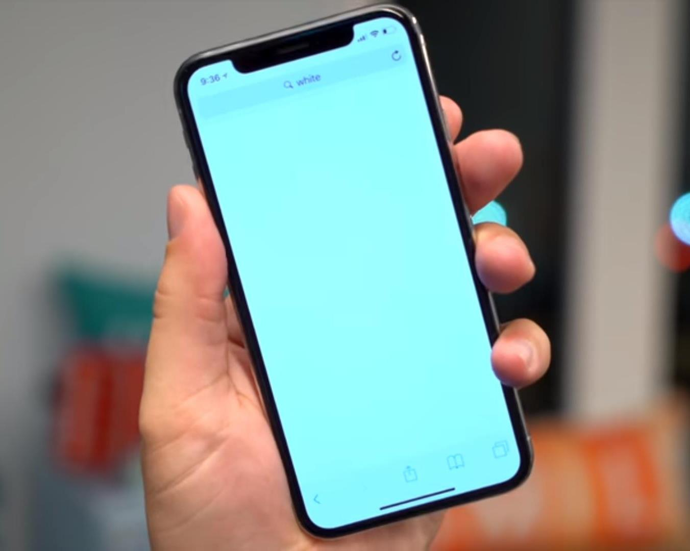 online retailer c107f 1d521 iPhone X Yellow / Blue shifted Display issue fix.