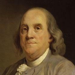 Benjamín Franklin (1706-1790), Científicos famosos