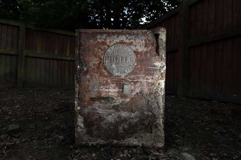 Nothing To Do With Arbroath: Mysterious locked safe found