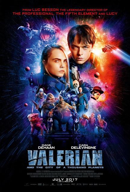 VALERIAN Y LA CIUDAD DE LAS CIEN CIUDADES película en la que ha trabajado el estudio de efectos especiales Rodeo FX