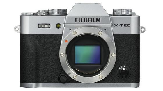 Fujifilm X-T20 front