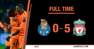 DOWNLOAD VIDEO: Porto vs Liverpool 0-5 – Highlights & Goals