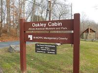 Oakley Cabin sign